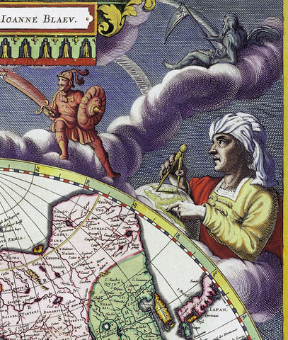 "Karaeng Pattingalloang. From Joan Blaeu ""Grooten Atlas"""
